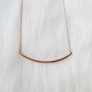 Jewelry - Bar pendant necklace